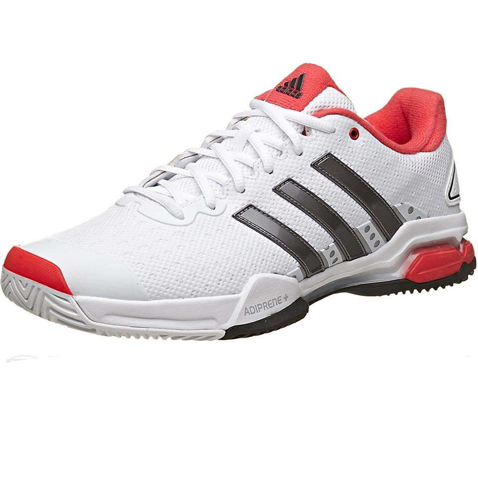 Adidas Barricade Team 4 White Tennis Shoes - Buy Adidas Barricade ...