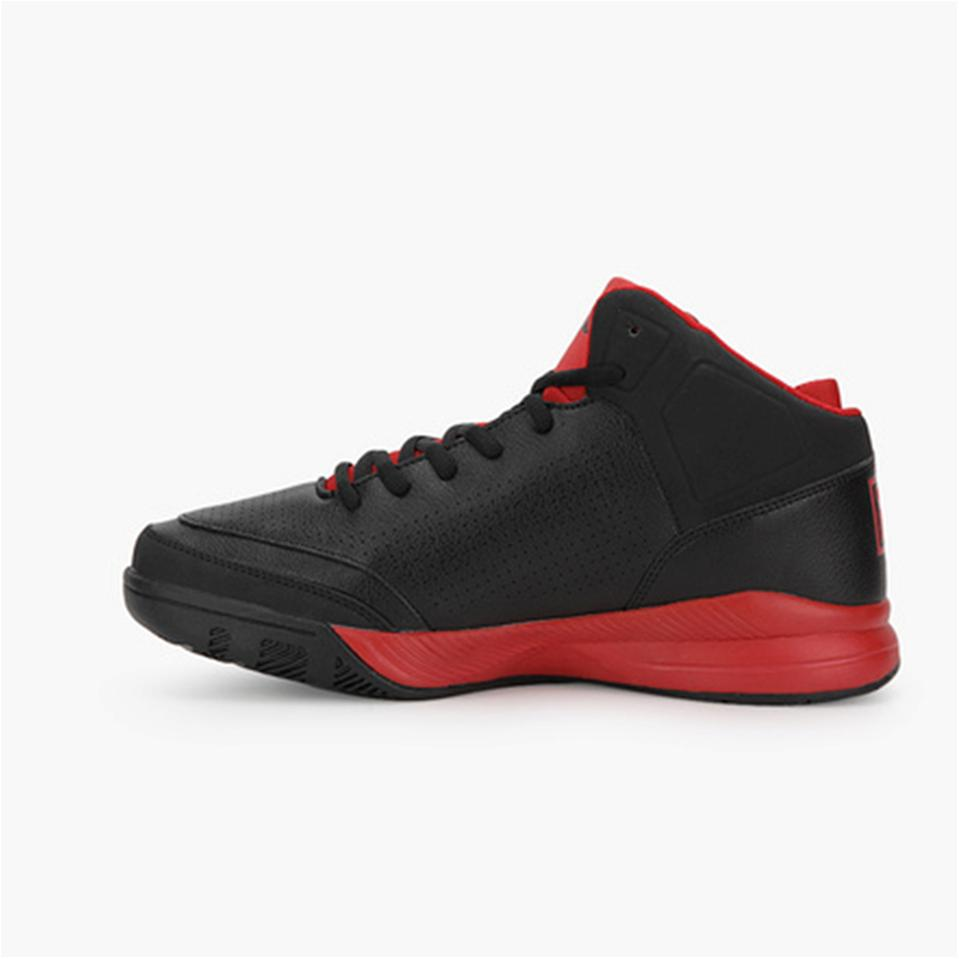 fila basketball shoes. fila gunner black and red basketball shoes - buy online at lowest prices in india | khelmart.com l