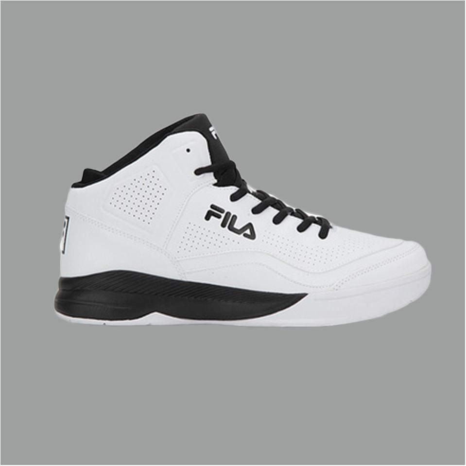 Fila Gunner White And Black Basketball Shoes Buy Fila