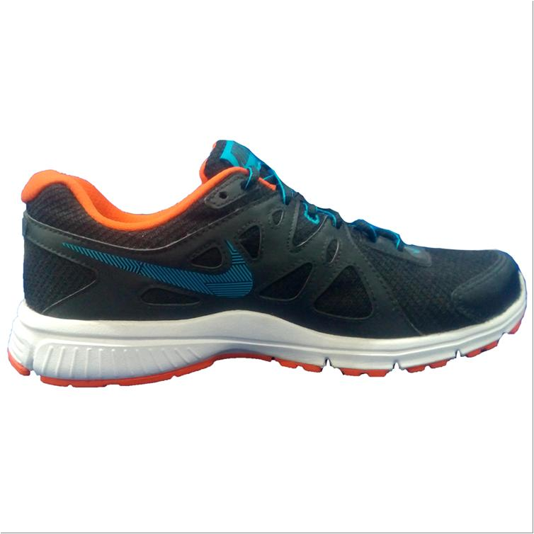 nike running shoes black white and orange buy nike
