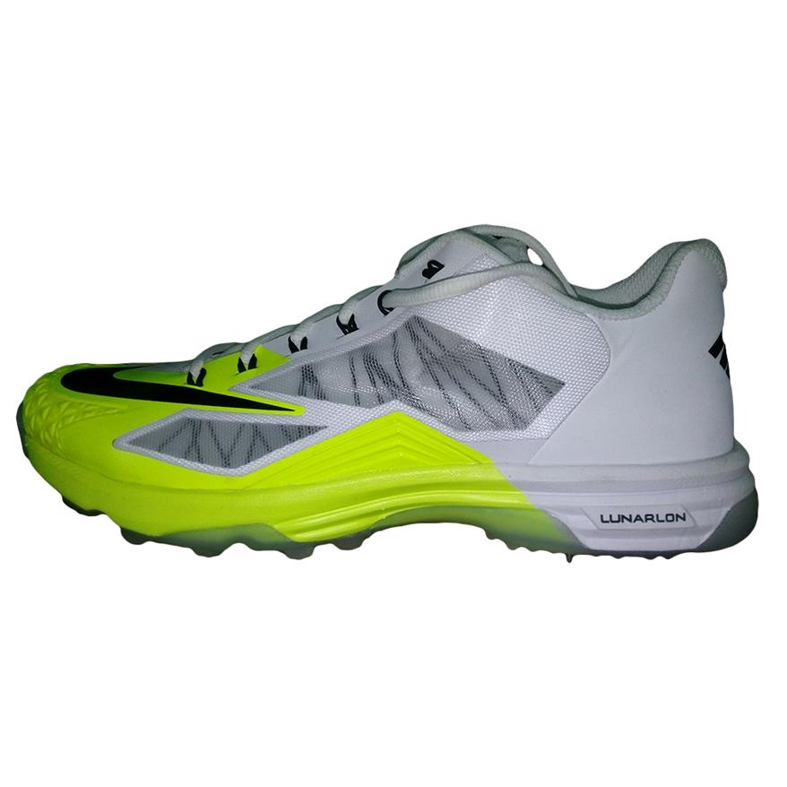 free shipping 5ab4b 16996 ... nike lunar dominate 2 white cricket shoes .