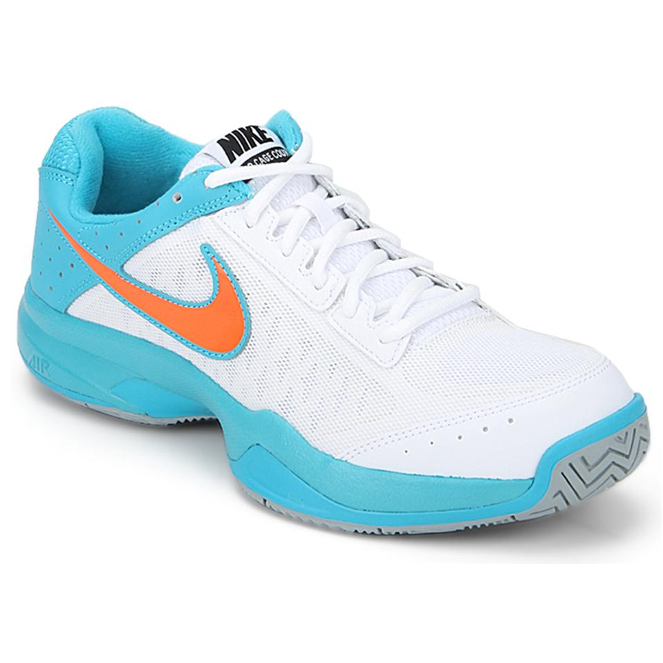 Nike Air Cage Court White Tennis Shoes - Buy Nike Air Cage Court White  Tennis Shoes Online at Lowest Prices in India - | khelmart.com