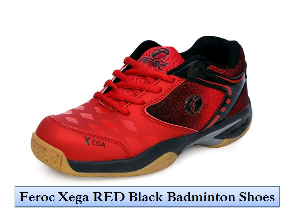 Feroc_Xega_RED_Black_Badminton_Shoes_Blog_Image