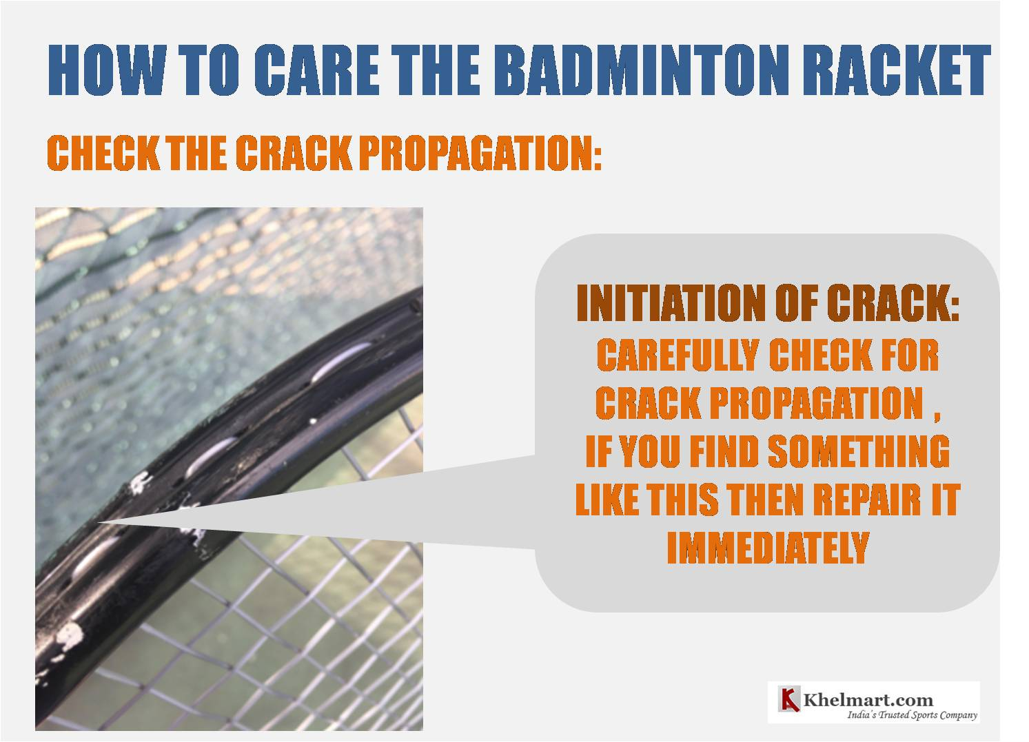 How_to_take_care_of_badminton_racket_Crack_Care_khelmart_Guide