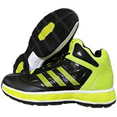 Adidas Tyrait Basketball Shoes Green and Black