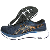 Asics Gel Excite 7 Running Shoes Black Pure Bronze