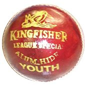 BDM King Fisher League Leather Cricket Ball 24 Ball Set