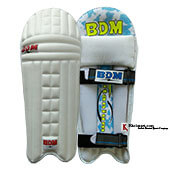 BDM Titanium Wicket Keeping Pads