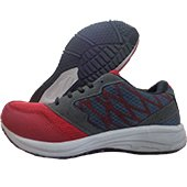 ESS Running Shoes Red and Gray