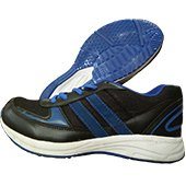 ESS Running Shoes Black and Blue