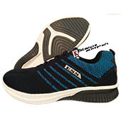 ESS Fly Running Shoes DARK BLUE AND BLACK