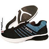 ESS Fly Running Shoes LIGHT BLUE AND BLACK