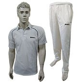 Excellents Cricket Clothing Half Sleeves White T Shirt and Lower Size Small