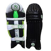 Gravity Super Test Cricket Batting Leg Guard Black