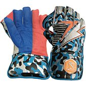 Gravity Camo Wicket Keeping Gloves