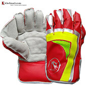 Gravity Skipper Wicket Keeping Gloves Red