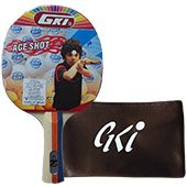 GKI Ace Shot Table Tennis Racket
