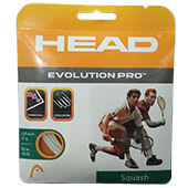 Head Evolution Pro Squash Tennis String Yellow