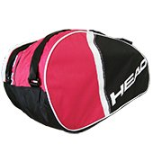 Head Core 6R Combi Tennis Kit Bag Red and Black