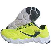 Jazba Fuzec 1.0 Running Shoes Fluo Lime and Navy