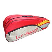 LiNing ABDK122 Badminton Kit bag Golden , Yellow and Red
