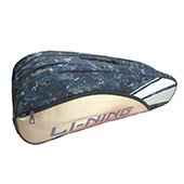 LiNing ABDK122 Badminton Kit bag Golden ,White and Blue