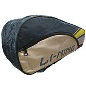 LiNing ABDK122 Badminton Kit bag Golden and Green