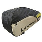 LiNing ABDK122 Badminton Kit bag Golden and Black