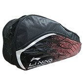 Li Ning ABSM181 Badminton kit Bag Black and Red