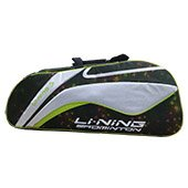 Li Ning ABSL392 4 Badminton kit Bag Space Lime