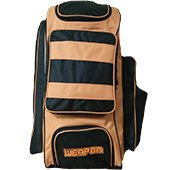 MRF Weapon Cricket Kit bag Orange and Black