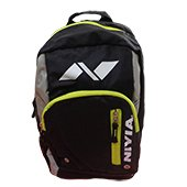 Nivia Trap back pack Backpack Black and Yellow