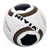 NIVIA  Black and White Size 4 Football