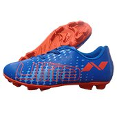 NIVIA Ultra Football Stud Shoes Blue and Orange