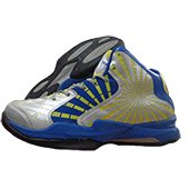 Nivia Phantom Basketball Shoe Blue and Green