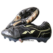 Nivia Premier Range Football Shoes Black and Yellow
