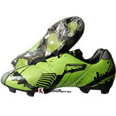 Nivia New Oslar Football Shoes Grey and Green