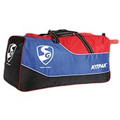 SG Kitpak Kit Bag Blue and orange Blue Red and Black