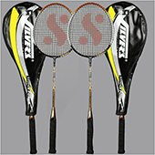 Silvers Legend Power Two set Badminton Rackets