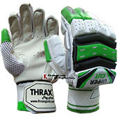 Thrax Upper Cut Batting Gloves Left Hand White and Green
