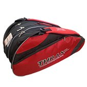Thrax Edition Badminton Kit Bag Red and Black