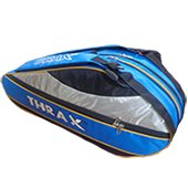 Thrax Professional Badminton Kit Bag Blue and Black