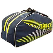 Thrax Smash Badminton Kit Bag Navy Blue and Lime