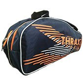 Thrax Smash Badminton Kit Bag Navy Blue and Orange