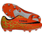 Thrax Dominator Football Shoes Orange Lime
