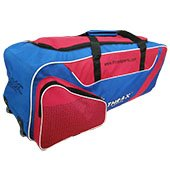 Thrax Elite Series Wheel Cricket Kitbag Red and Blue