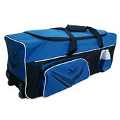Thrax Proto 11 Wheel Cricket Kit Bag Blue and Black
