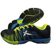 Vector X Stud Running Shoes Blue and Green