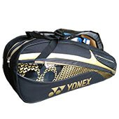 YONEX SUNR M101TK BT6S Badminton Kit Bag Black and Gold