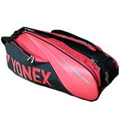 YONEX Sunr 9629TG BT9 SR Badminton Kit Bag Red and Black